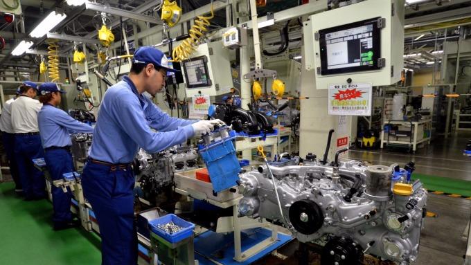 打算為勞工加薪的日本企業比例不高(圖:AFP)