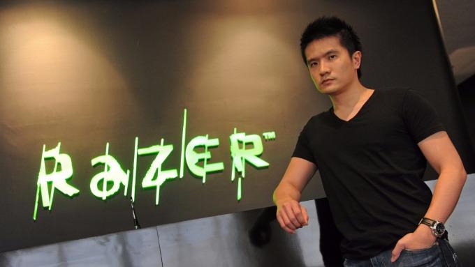 雷蛇創始人、CEO兼首席玩家陳民亮。(圖:AFP)