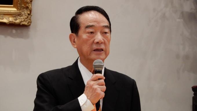 宋楚瑜APEC成果記者會:宋習自然互動已向蔡提建議