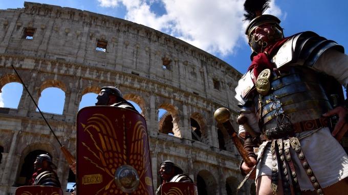 義大利羅馬競技場。(AFP)