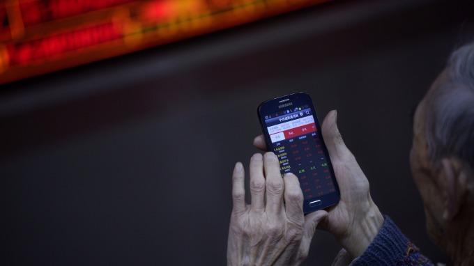 中國股市(圖:AFP)