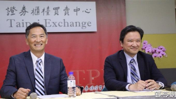 中裕執行長張念原(左)。(鉅亨網記者李宜儒攝)