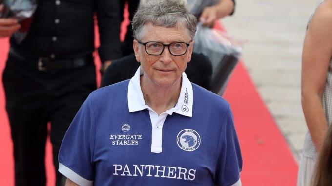 微軟共同創辦人比爾蓋茲。(AFP)
