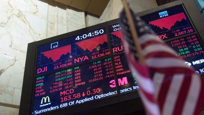 美國股市(圖:AFP)