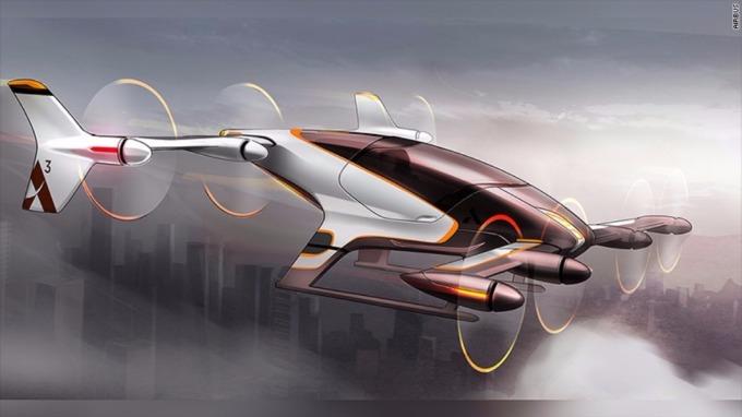 Airbus將於年底啟動Vahana 飛行車計劃。(圖取材自Airbus官方網站)