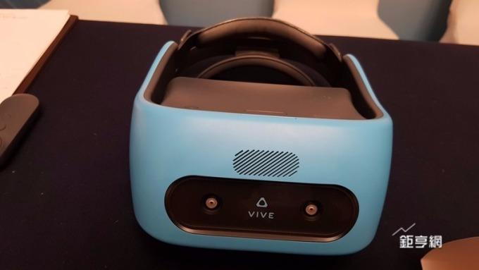 宏達電Vive Focus鎖定中國一體機市場。(鉅亨網記者楊伶雯攝)