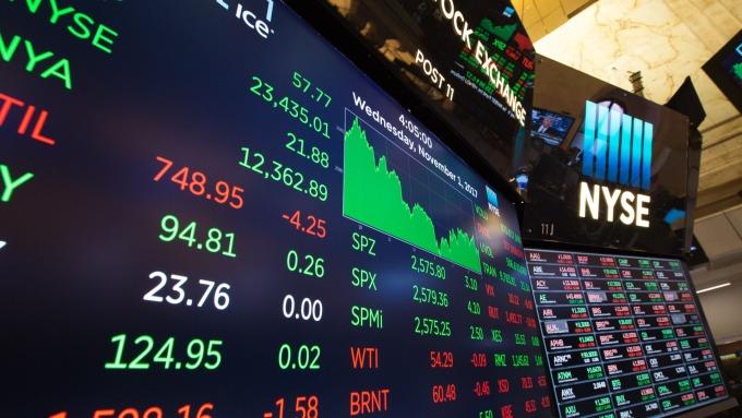 圖:AFP  美國股市週二收低 但大幅縮小跌幅