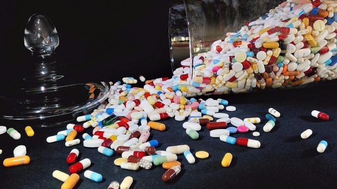 全球首例數位藥丸批准上市。(示意圖:AFP)