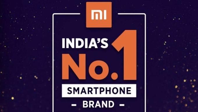小米Q3奪下印度手機第一大寶座。(圖:小米提供)