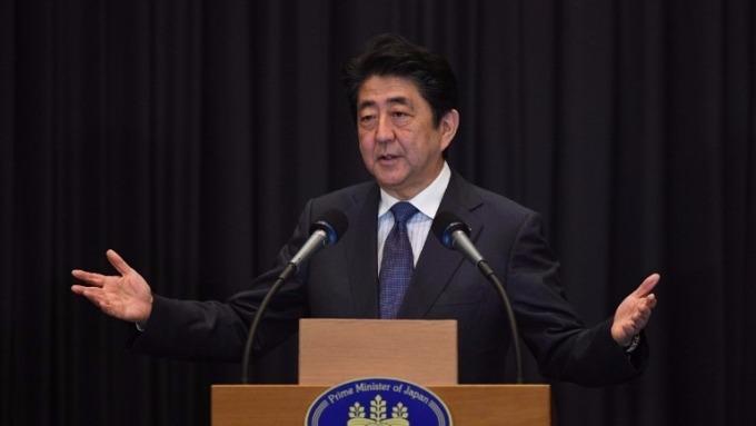 日本首相安倍晉三 (圖:AFP)
