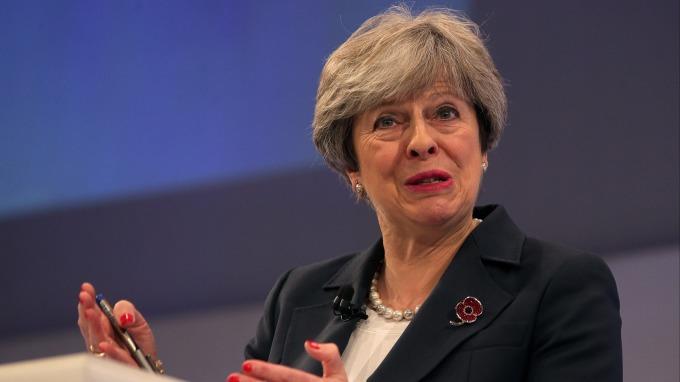 英國首相梅伊(圖:AFP)
