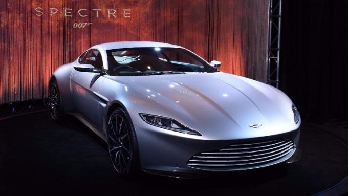 Aston Martin DB10車款 (圖:AFP)