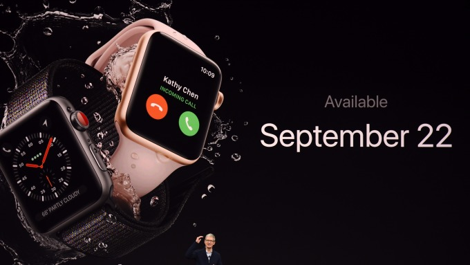 Apple watch(圖:AFP)