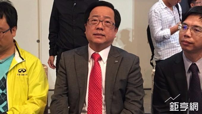 裕日車總經理李振成。(鉅亨網記者王莞甯攝)