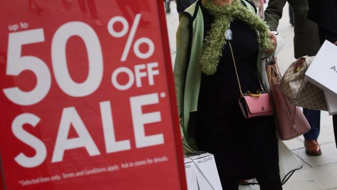 圖:AFP  美國10月核心通貨膨脹年率上升