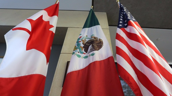 美加墨進行Nafta新一輪談判(圖:AFP)
