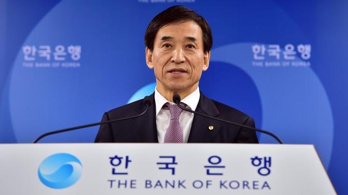 韓國央行總裁李柱烈。(圖:AFP)