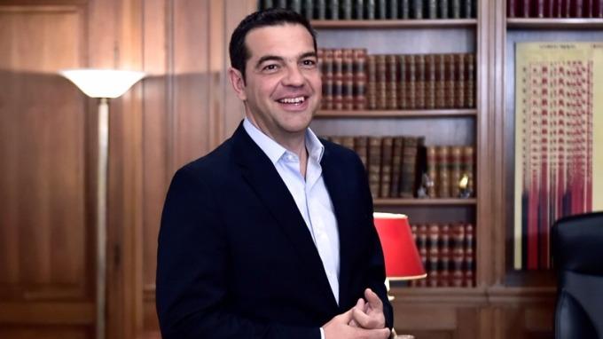 希臘總理齊普拉斯。 圖:AFP