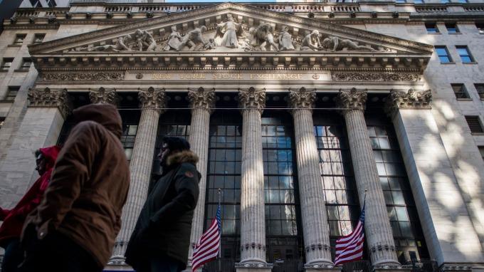 圖:AFP  紐約證券交易所大樓