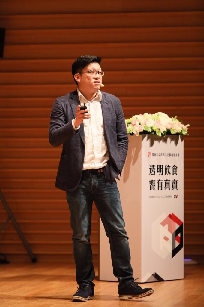 良食究好市集餐廳執行長吳季衡:「飲食問題是全球的,台灣的情況並沒有這麼糟。」