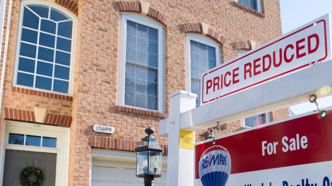 圖:AFP  美國10月成屋銷售上升至年率548萬棟