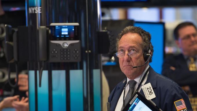 圖:AFP 美國股市週三收盤漲跌互見