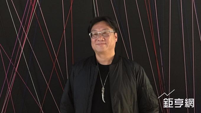 鑫盛傳媒董事長羅法平。(鉅亨網記者林薏茹攝)