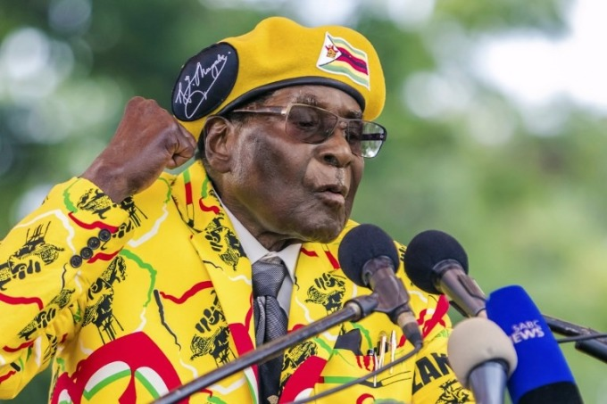 辛巴威前總統穆加比