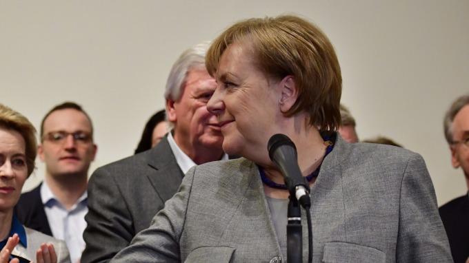 圖:AFP  德國政治危機可望化解