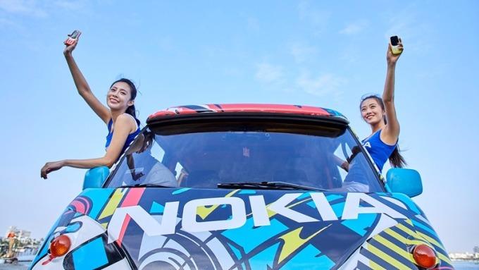 Nokia行動體驗車。(圖:HMD Global提供)