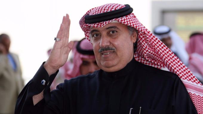 沙烏地阿拉伯王子米泰布(圖:AFP)