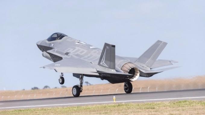 F-35戰機也參與這次美韓空演。 (圖:AFP)
