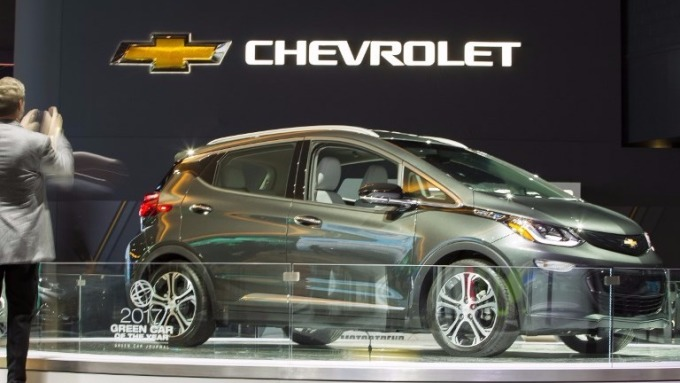 Chevrolet Bolt (圖:AFP)