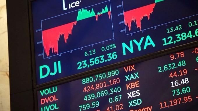 年截至9月,湧入美股的外資達664億美元,是2012年以來最大規模。 (圖:AFP)