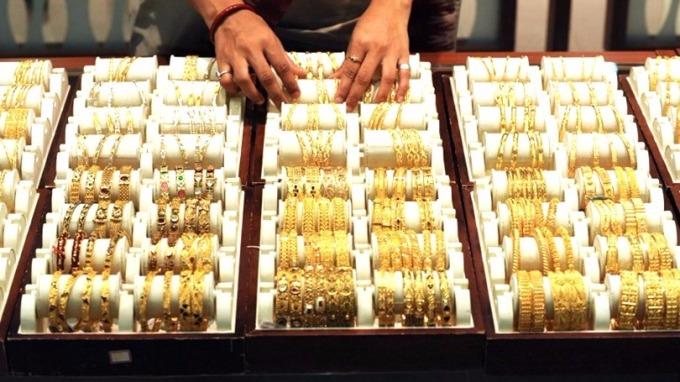 金價考驗每盎司1270美元關口。 (圖:AFP)