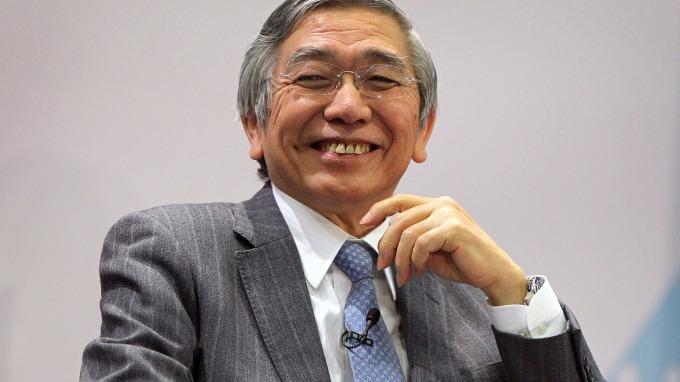 日本央行行長黑田東彥 / 圖:afp