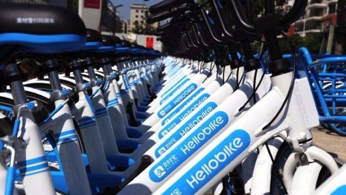 哈羅單車完成3.5億美元D1輪融資。 (圖取材自網路)