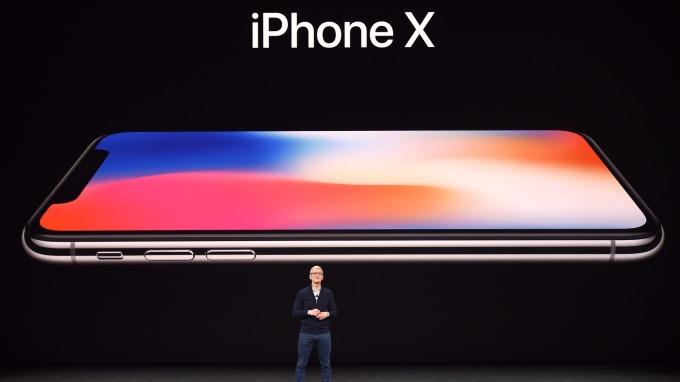 iPhone X(圖:AFP)