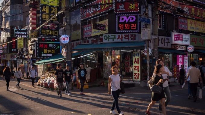 南韓明年人均所得將跨越3萬美元門檻。(圖:AFP)