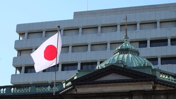 日本央行(圖:AFP)
