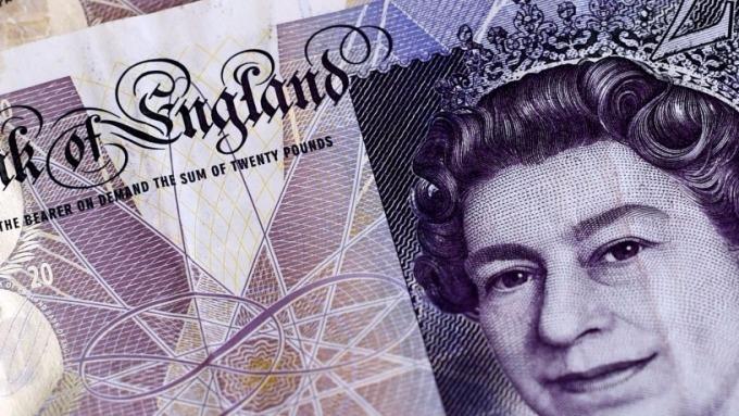 圖:AFP  英國脫歐談判遇阻 英鎊下跌