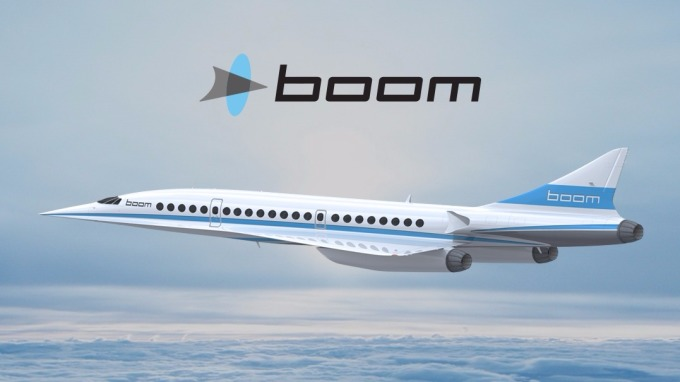 新一代超音速客機即將問世      (圖取自BOOM官網)