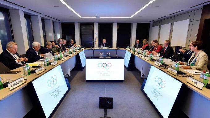 國際奧委會執行委員與主席Thomas Bach(圖:iocmedia)