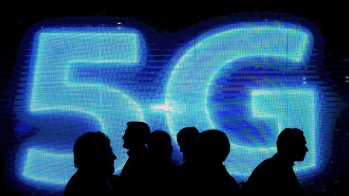 中國拚5G。(圖:AFP)