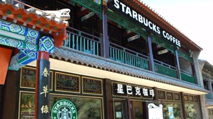 星巴克中國CEO王靜瑛表示,星巴克平均每15小時就在中國開設一家新的店面。(圖:新浪網)