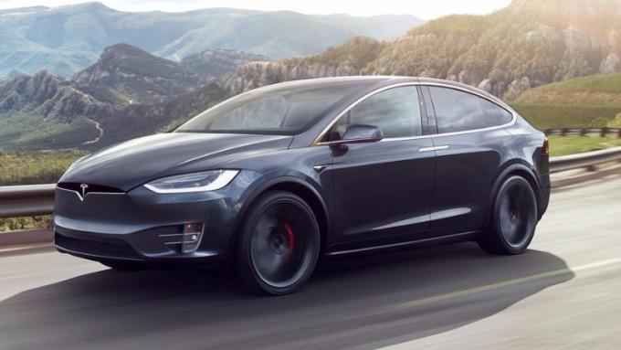 特斯拉Model X (圖:AFP)