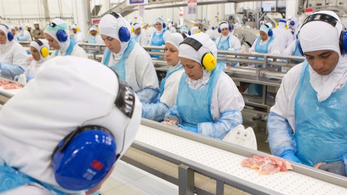 圖:AFP  美國私人企業11月新增就業19萬人