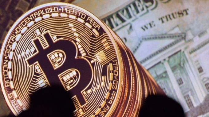 比特幣再突破14000美元關卡      (圖:AFP)