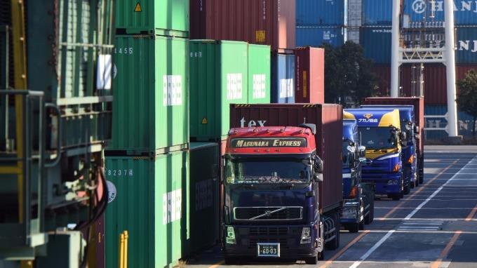 日本出口強力復甦(圖:AFP)