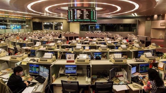 港交所今年新股集資額在全球排名第4。 (圖:AFP)